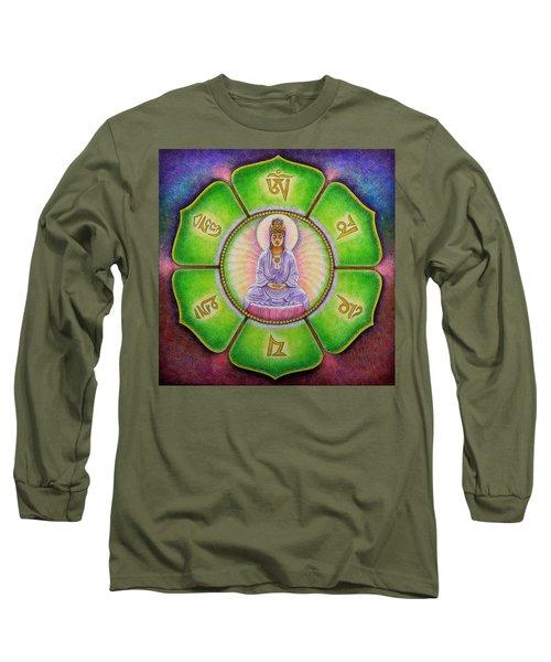 Om Mani Padme Hum Kuan Yin Long Sleeve T-Shirt