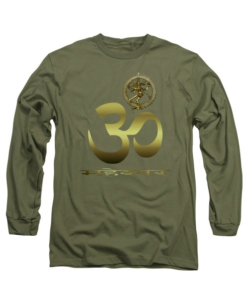 Om Shiva Long Sleeve T-Shirt