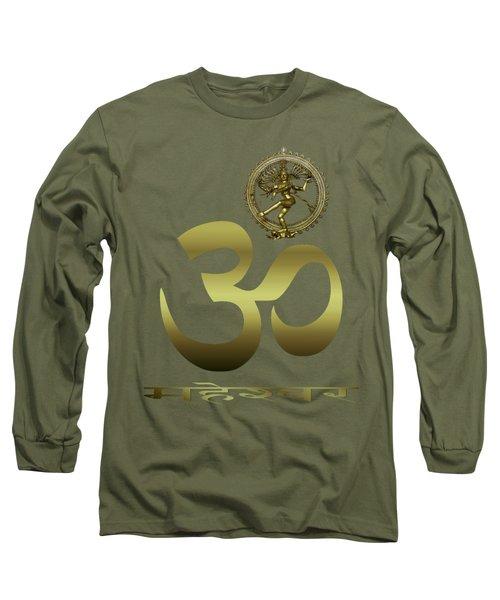 Om Shiva Long Sleeve T-Shirt