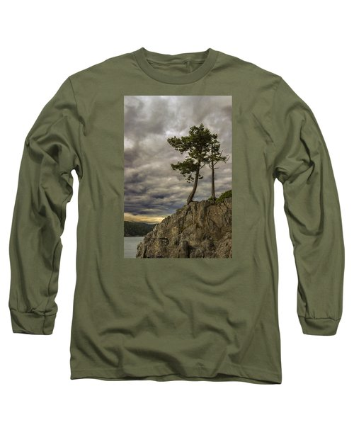 Ominous Weather Long Sleeve T-Shirt by Ed Clark