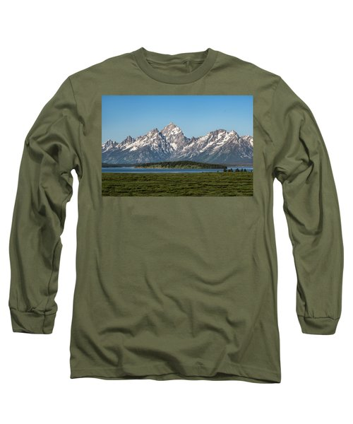 Long Sleeve T-Shirt featuring the photograph On A Clear Day by Jan Davies