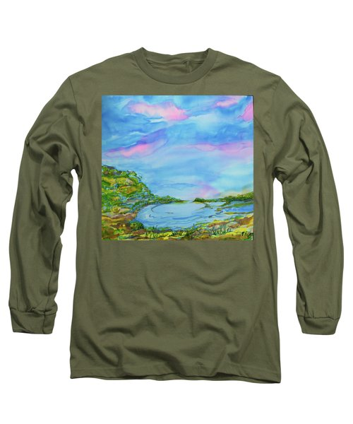 On A Clear Day Long Sleeve T-Shirt by Susan D Moody