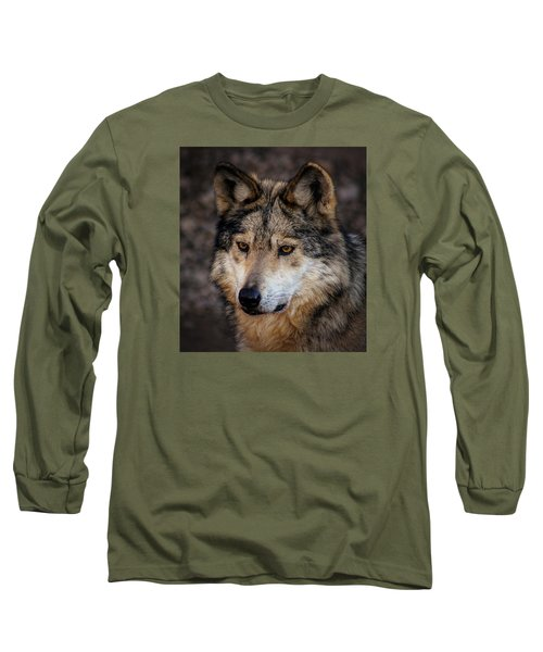 Long Sleeve T-Shirt featuring the photograph On Alert by Elaine Malott