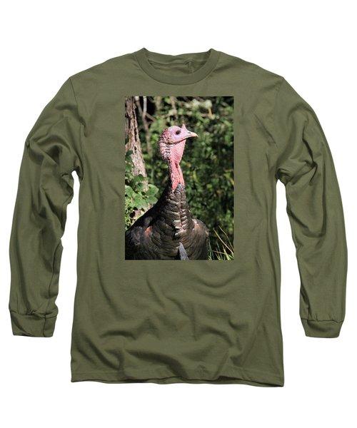 Long Sleeve T-Shirt featuring the photograph On High Alert by Doris Potter
