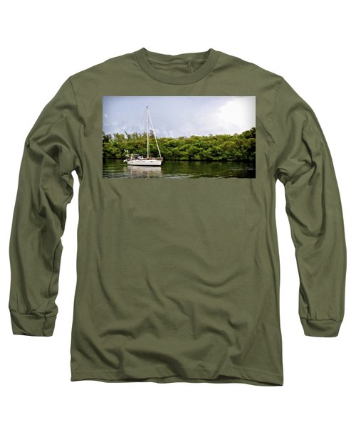 On Quiet Waters Long Sleeve T-Shirt