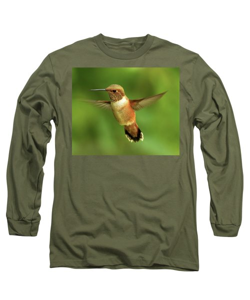 On The Lookout Long Sleeve T-Shirt by Sheldon Bilsker