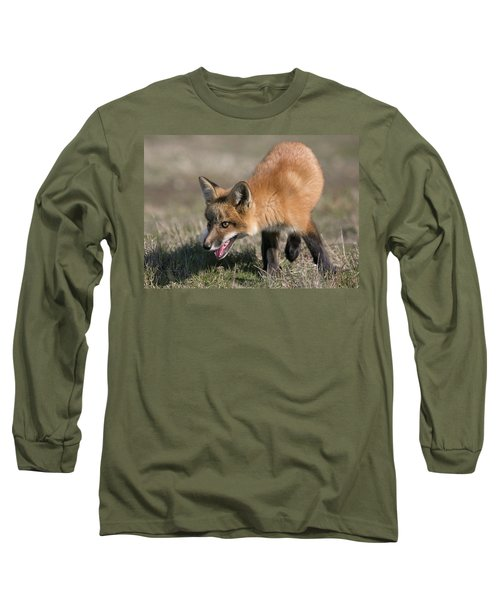 On The Prowl Long Sleeve T-Shirt by Elvira Butler