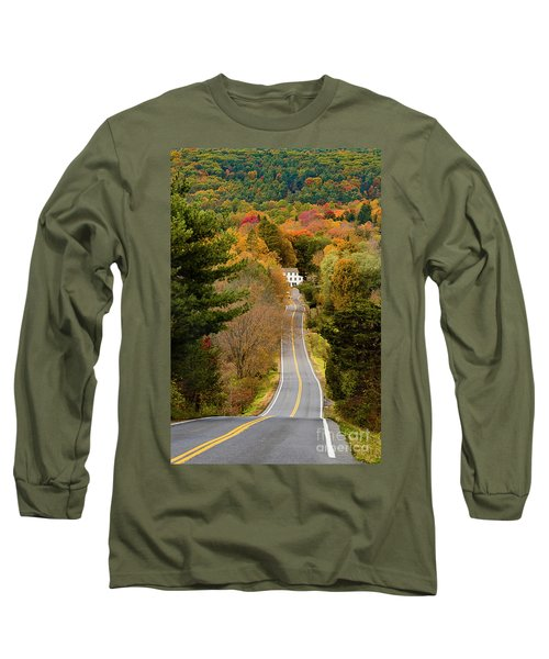On The Road To New Paltz Long Sleeve T-Shirt
