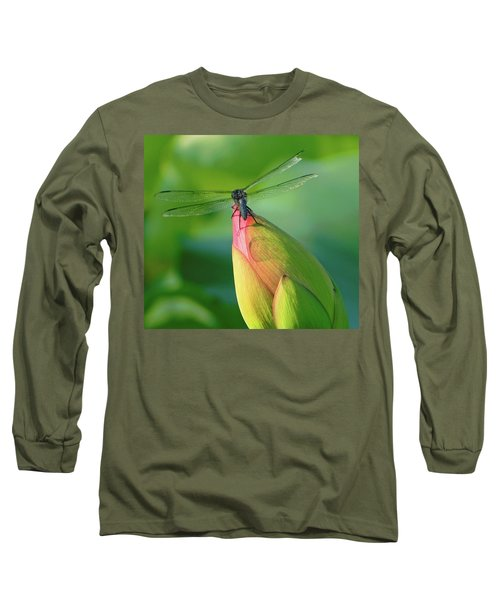 On The Tip Of My World Long Sleeve T-Shirt