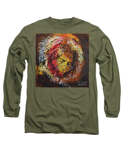 Once A Lion Long Sleeve T-Shirt by Stuart Engel