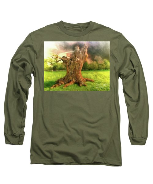 Long Sleeve T-Shirt featuring the photograph Once I Touched The Stars by Leigh Kemp