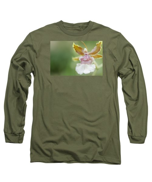 Oncidium Surprise Long Sleeve T-Shirt by Mary Angelini