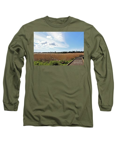 Long Sleeve T-Shirt featuring the photograph One Beautiful Day... by Katy Mei