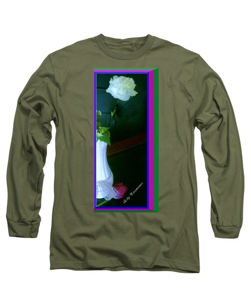 One Carnation And One Rose Bud Long Sleeve T-Shirt