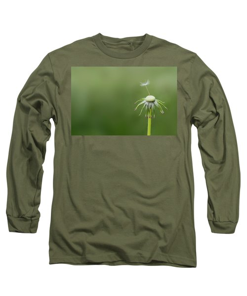 Long Sleeve T-Shirt featuring the photograph One Dandy by Bess Hamiti