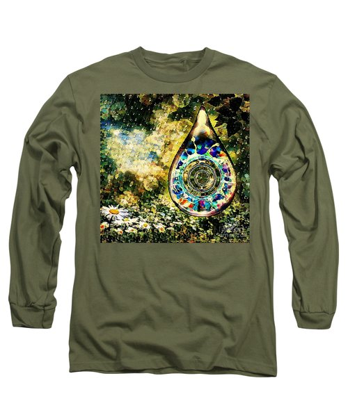 One Drop In The Rain Long Sleeve T-Shirt