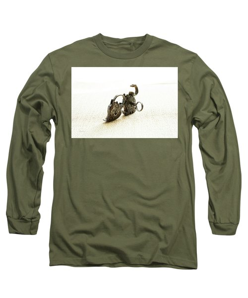 One Open One Closed Long Sleeve T-Shirt