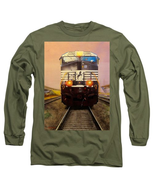 One Track Mind Long Sleeve T-Shirt