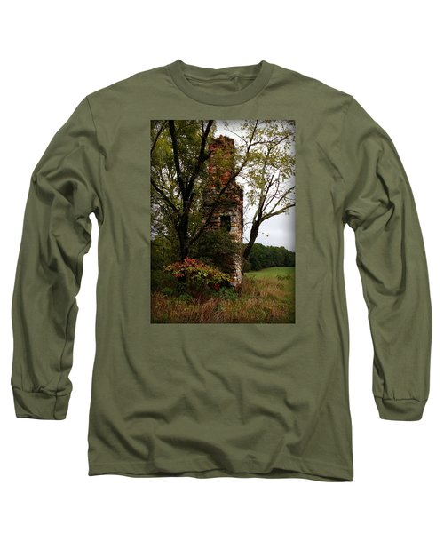 Long Sleeve T-Shirt featuring the photograph Only Thing Left Standing by Katie Wing Vigil