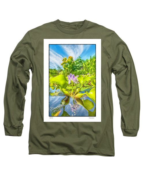 Open Arms Long Sleeve T-Shirt by R Thomas Berner