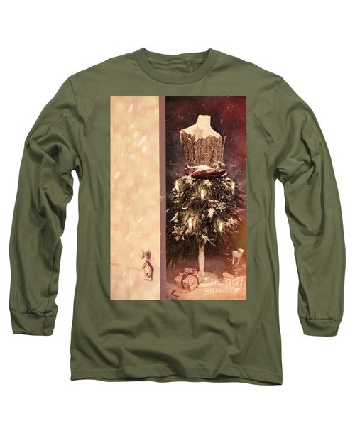 Open Door Into Christmas Long Sleeve T-Shirt