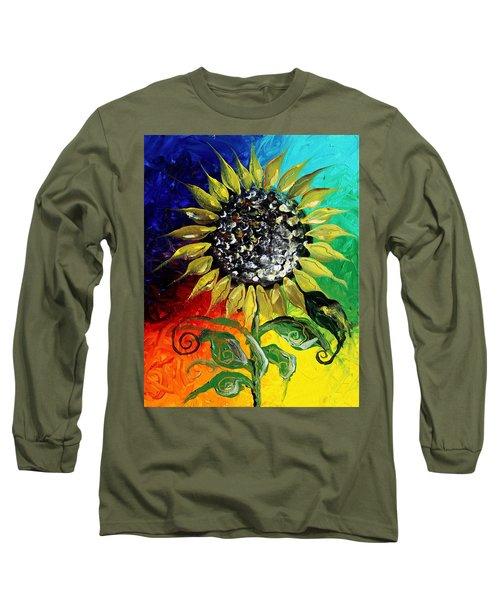 Open Long Sleeve T-Shirt