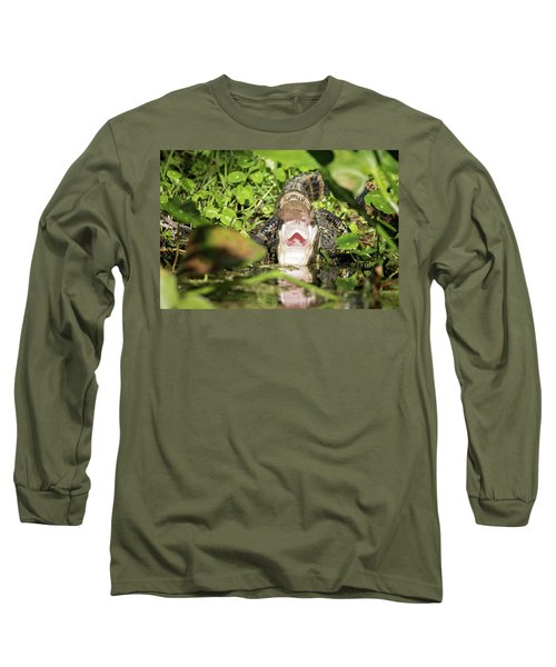 Open Wide Long Sleeve T-Shirt