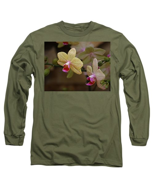 Opulent Orchids Long Sleeve T-Shirt