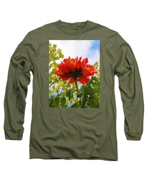 Orange Beauty Long Sleeve T-Shirt