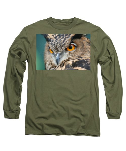 Long Sleeve T-Shirt featuring the photograph Orange Crush by Laddie Halupa