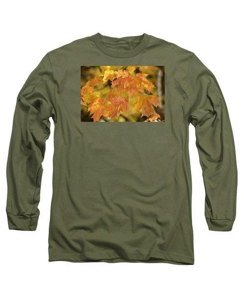 Orange Maples Long Sleeve T-Shirt