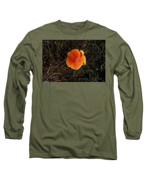 Orange Signed Long Sleeve T-Shirt