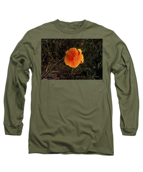 Orange Signed Long Sleeve T-Shirt