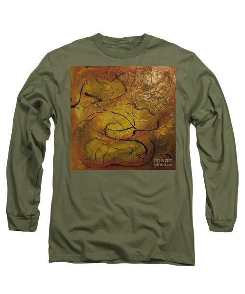 Orange Souffle Long Sleeve T-Shirt
