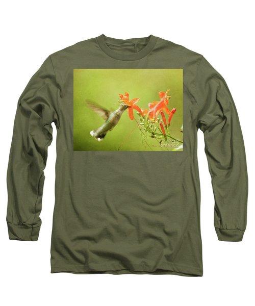 Orange Treat Long Sleeve T-Shirt