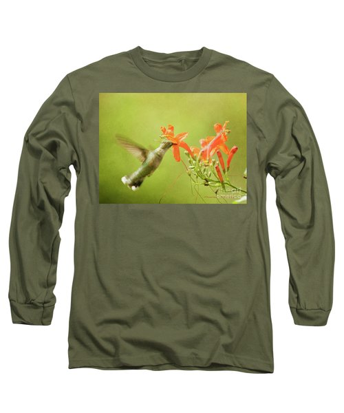 Orange Treat Long Sleeve T-Shirt