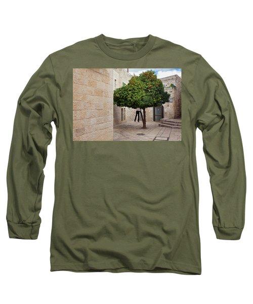 Orange Tree Long Sleeve T-Shirt