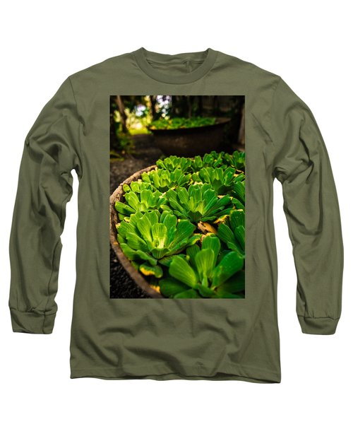 Orchid Pond Long Sleeve T-Shirt