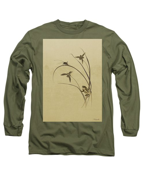 Orchid Sonata Long Sleeve T-Shirt