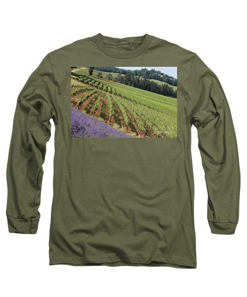 Oregon Vineyard Long Sleeve T-Shirt