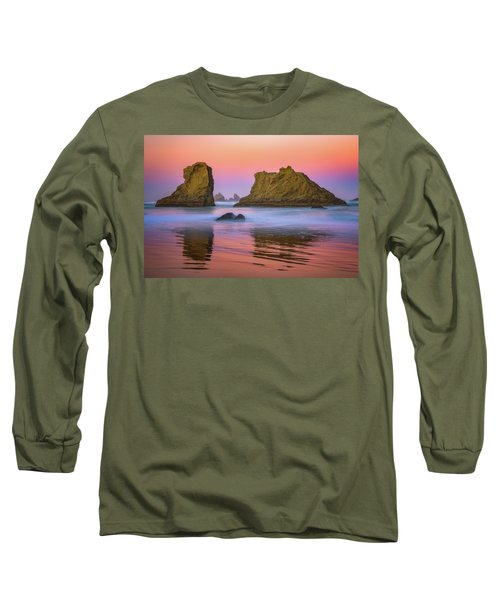 Long Sleeve T-Shirt featuring the photograph Oregon's New Day by Darren White