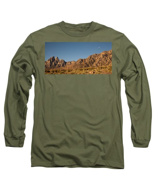 Organ Mountans At Sunrise-3 Long Sleeve T-Shirt