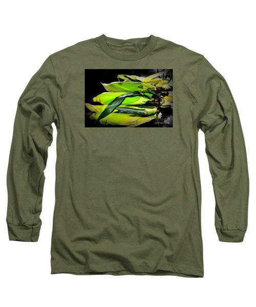 Long Sleeve T-Shirt featuring the photograph Organic Corn 2 by Tanya Searcy
