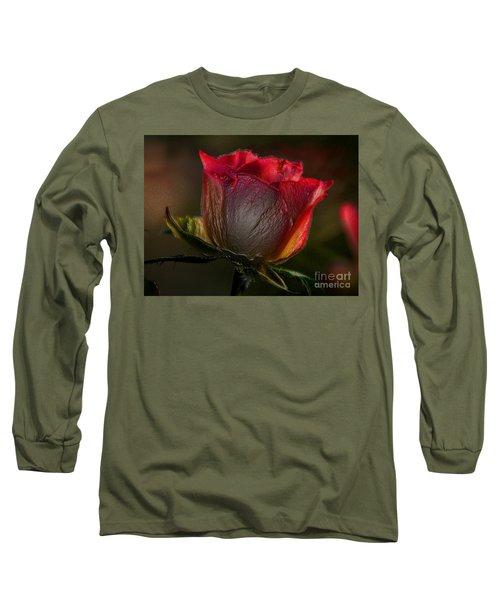 Organic Rose Long Sleeve T-Shirt
