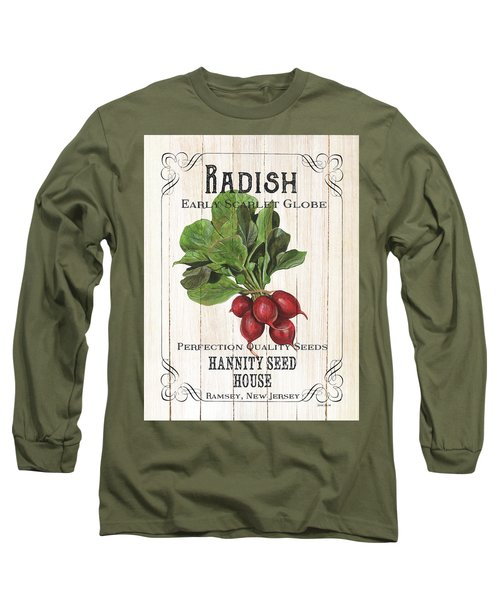 Organic Seed Packet 3 Long Sleeve T-Shirt
