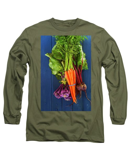Organic Vegetables Long Sleeve T-Shirt