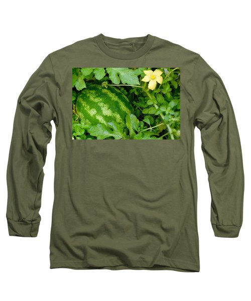 Organic Watermelon Long Sleeve T-Shirt