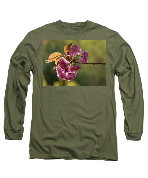 Ornamental Cherry Blossoms - Long Sleeve T-Shirt