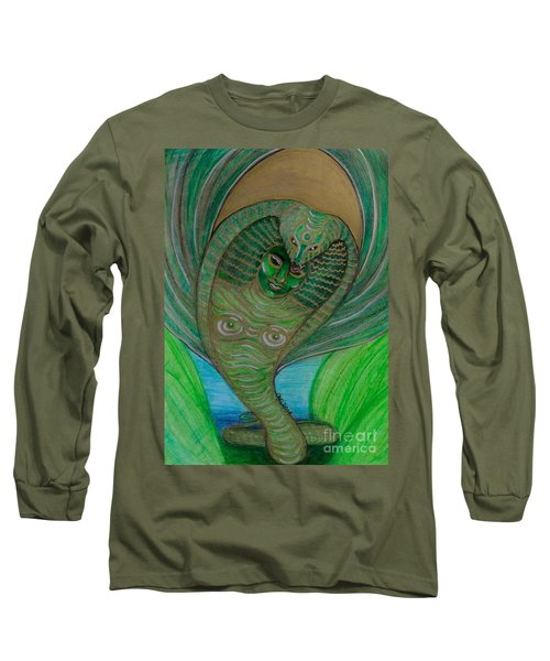 Wadjet Osain Long Sleeve T-Shirt