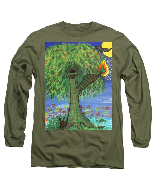 Osain Tree Long Sleeve T-Shirt